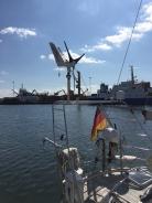 Tysk nabobåd med Superwind
